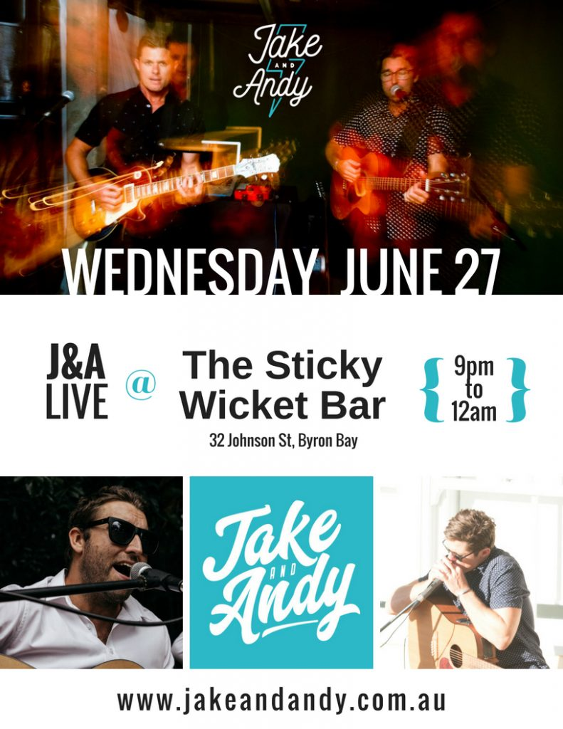 What's on live music byron bay